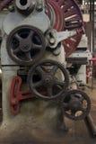 Engranajes del metal Fotografía de archivo