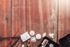 Engranajes del reloj Fotos de archivo libres de regalías