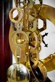 Engranajes del reloj Fotos de archivo