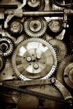 Engranajes del viejo mecanismo fotografía de archivo