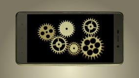 Engranajes en móvil