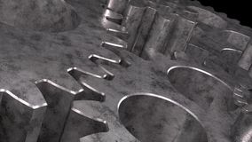 Engranajes giratorios stock de ilustración