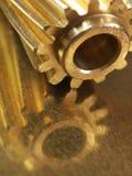 Engranajes helicoidales Steampunk Imágenes de archivo libres de regalías