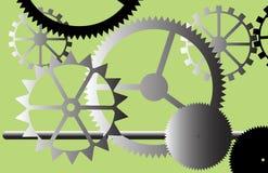 Engranajes industriales. Fotografía de archivo
