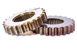 Engranajes industriales del metal Foto de archivo
