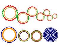 Engranajes multicolores Fotografía de archivo libre de regalías
