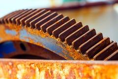 Engranajes oxidados Foto de archivo