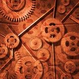 Engranajes oxidados Fotografía de archivo