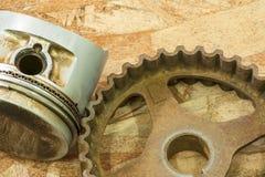 Engranajes oxidados Imagenes de archivo