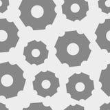 Engranajes potentes abstractos Stock de ilustración