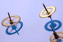 Engranajes que remolinan Fotografía de archivo libre de regalías