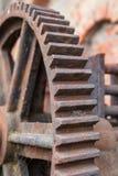 Engranajes y engranaje de gusano Foto de archivo libre de regalías