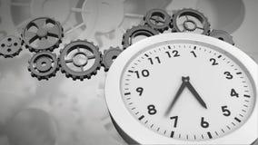 Engranajes y reloj