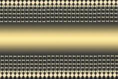 Engranzamento cinzento dourado ilustração do vetor