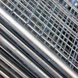 Engranzamento do aço da construção Fotografia de Stock