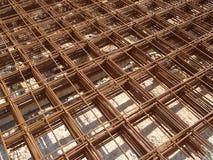 Engranzamento do aço do reforço Fotos de Stock