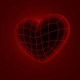 Engranzamento do coração 3d Fotografia de Stock Royalty Free
