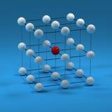Engranzamento do cubo ilustração do vetor