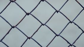 Engranzamento do metal cercar Vídeo cheio de HD vídeos de arquivo