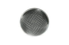 Engranzamento do microfone Fotografia de Stock Royalty Free