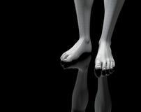 Engranzamento dos pés 2 imagens de stock royalty free