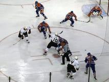 Engrasadores contra Mighty Ducks 3 Foto de archivo libre de regalías