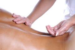 Engrase el masaje Foto de archivo libre de regalías