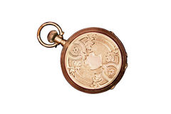 Engraved Antique Pocket Watch Royalty Free Stock Photo