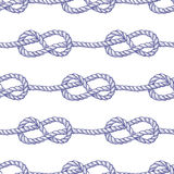 Engraved eternity eight knot Stock Photography