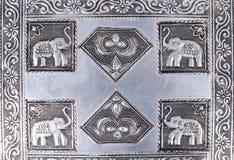 Engraved metal Royalty Free Stock Photos