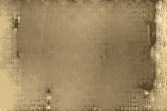 Engraved texture of a papyrus with paper patterns stock illustration