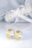 Engraved wedding rings 4 Royalty Free Stock Photos