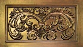 Engraved wood Stock Photo