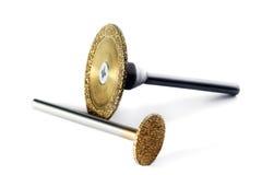 Engraver diamond milling cutter Stock Image