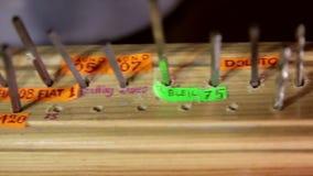 Engraving Device dremel stock footage