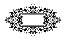 Engraving frame Royalty Free Stock Photography