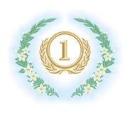 Engraving frame Royalty Free Stock Image