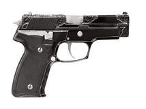 Engraving gun Royalty Free Stock Photography