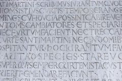 Engraving Lucca Duomo Royalty Free Stock Images
