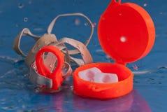 Engrenagem da natação Foto de Stock