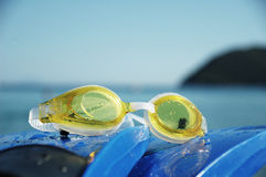 Engrenagem da natação Foto de Stock Royalty Free