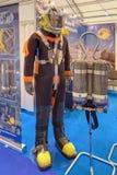 engrenagem de mergulhador Foto de Stock