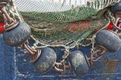 Engrenagem de pesca imagens de stock royalty free