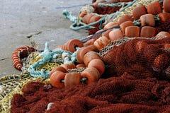 Engrenagem de pesca imagem de stock