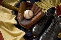 Engrenagem do basebol do vintage Imagem de Stock