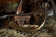 Engrenagem do caçador Foto de Stock
