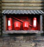 Engrenagem do fogo das amostras Fotografia de Stock Royalty Free
