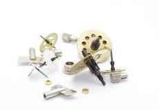 engrenagem do pulso de disparo dos maquinismo de relojoaria Imagem de Stock