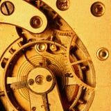 Engrenagem dourada Fotografia de Stock Royalty Free