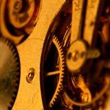 Engrenagem dourada Imagens de Stock Royalty Free